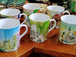 世界の街シリーズマグカップ