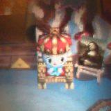 玉座と王冠