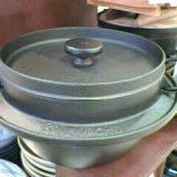 南部鉄の御飯鍋(三合炊き)