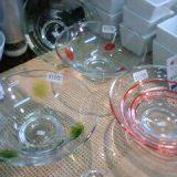 ガラスの平鉢各種