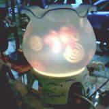 金魚鉢まわり灯篭