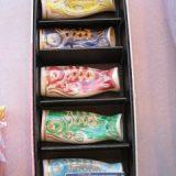 清水焼 鯉のぼりの箸置セット