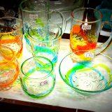 色も鮮やかベトナムガラス