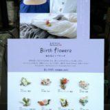 陶器製誕生花ピンブローチ