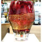 金箔入り 江戸硝子紅玻璃タンブラー