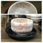 桜ゆったり碗