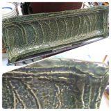 織部型彫特大皿