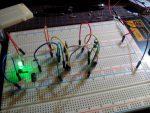 LEDでホタルモドキ