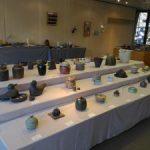 伊豆の土を使った陶芸展